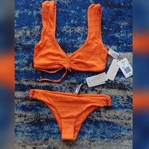 L*Space Frida Top Rosemary Bottom Bikini Set sz M